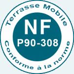 Norme NF mobiel terras